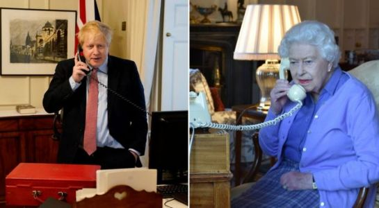 Coronavirus: The Queen And Boris Johnson Pictured Holding Weekly Meeting On Telephone