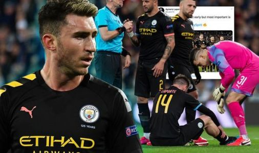 Aymeric Laporte sends message to Man City fans after Real Madrid injury