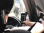 Uber driver is caught rapidly swiping right on Tinder each time the car stops
