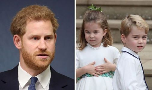 How Harry revealed fear of Charlotte and George 'hogging' limelight - 'Will be eclipsed'