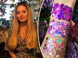 Teenager becomes FIFTH biggest seller on Depop by selling festival glitter from her bedroom
