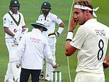 Stuart Broad jumps to the defence of under-fire umpires as bad light halts play