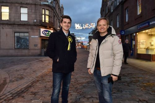 Peterhead-born director urges SNP vote saying his Tory grandmother would be 'ashamed' of the party