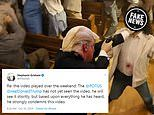 Donald Trump 'strongly condemns this video' says press secretary after graphic spoof