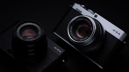 The Fujifilm X-E4 is a retro travel camera with an attractive price tag