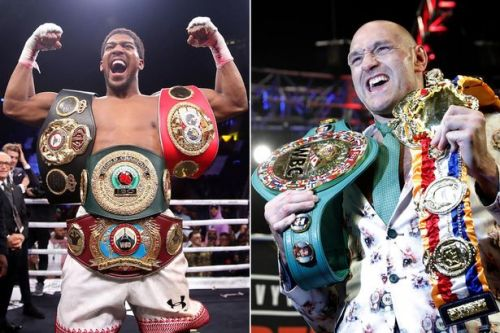 Tyson Fury vs Anthony Joshua would be England's biggest sporting event since 1966 World Cup
