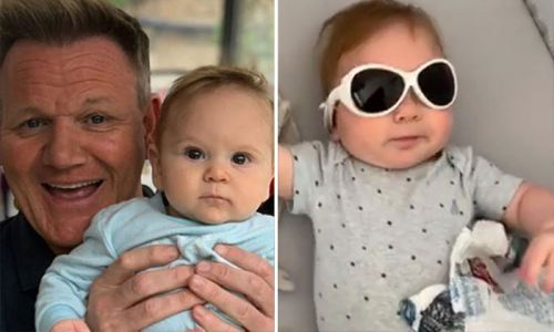 Gordon Ramsay celebrates baby Oscar's first birthday with adorable unseen photos