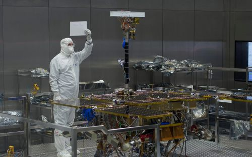Alien-hunting camera attached to ExoMars rover as it prepares for blast off for Mars
