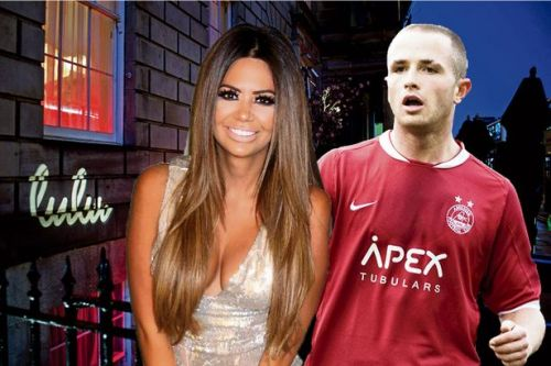 Jealous WAG who glassed footballer once had drink 'spiked after he caught sexually transmitted disease'