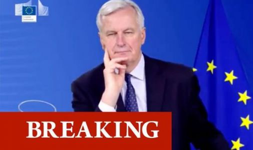 EU LOVE-IN: Barnier awarded 'European of the Year' by Irish in cringe-worthy ceremony