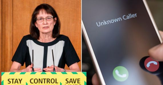 Public can tell if track and trace phone call is real because it will sound 'professional'