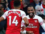 Alexandre Lacazette fired up by European rest as he opened the scoring for Arsenal against Everton