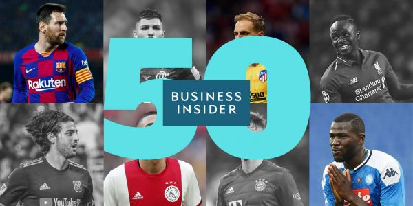 The 50 best soccer players in the world in 2019