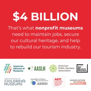 A Second Letter to Congress Requests $4 Billion for Museums for COVID-19 Economic Relief