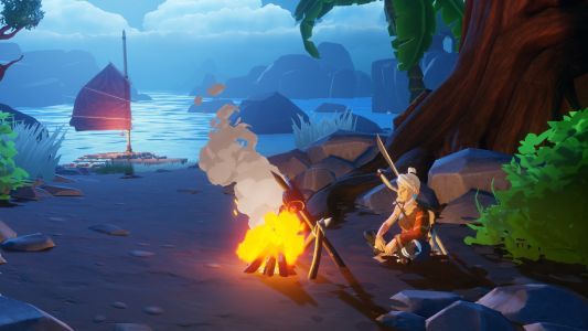 Windbound looks like Zelda: Breath of the Wild with more boats, and it's coming to Steam
