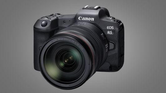 Leaked Canon EOS R5 image gives us our first glimpse of the mirrorless powerhouse