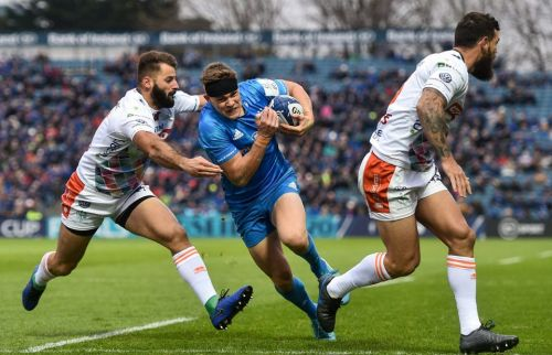 Leinster 33 Benetton Treviso 19: Garry Ringrose hat-trick inspires Blues to bonus point victory in Champions Cup opener