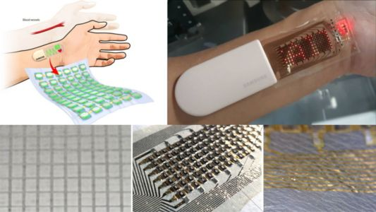 Samsung Develops a 'Stretchable Electronic Skin' OLED Display