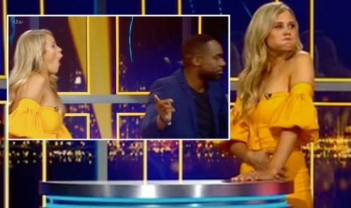 Ore Oduba storms off Alan Carr's Epic Gameshow as he loses Play Your Cards Right