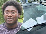 Black student at Texas A&M who found racist notes on his car put them there himself, cops say