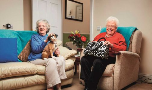 Gogglebox fans rejoice as favourites Mary and Marina return to the show - even if it is just repeat footage