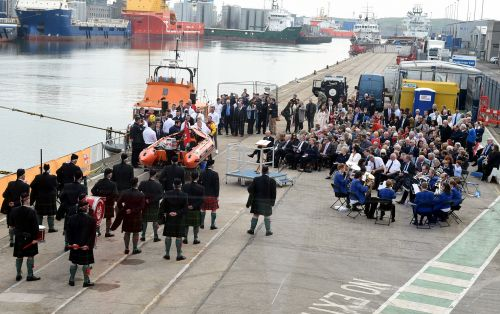 New Aberdeen lifeboat named in honour of helicopter crash victims