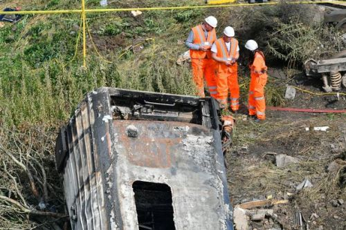 Brave off-duty conductor climbed out of ScotRail train wreckage and ran for help