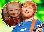 Ed Sheeran was bullied at school for having ginger hair and glasses