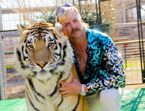 Joe Exotic hasn't watched Tiger King yet but is 'ecstatic' after being inundated with jail mail
