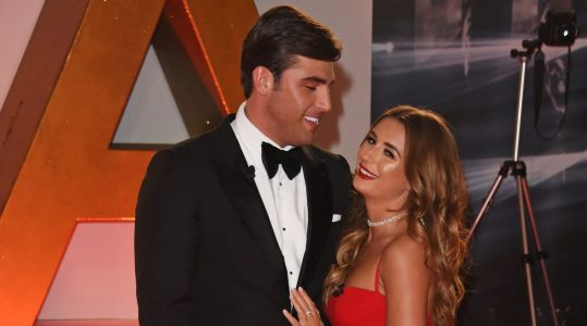 Dani Dyer and Jack Fincham look ready to steal the show as they arrive at National Television Awards 2019