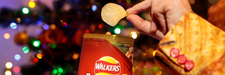 Walkers' 'Merry Crispmas' advert is a hit among current customers