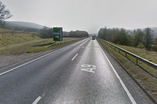 Person cut from wreckage after horror two-car crash on A9 near House of Bruar