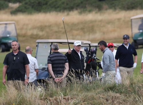 US Secret Service agent dies after suffering a stroke during Donald Trump's visit to UK