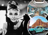 The £39 Breakfast at Tiffany's! Inside the 'blue box' pop-up cafe in Harrods
