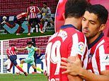 'One bites and the other kicks!': Diego Costa relishing Luis Suarez link-up at Atletico Madrid