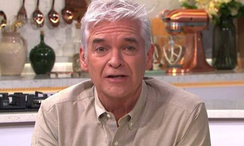Phillip Schofield fights back tears on This Morning as he admits mental health struggles