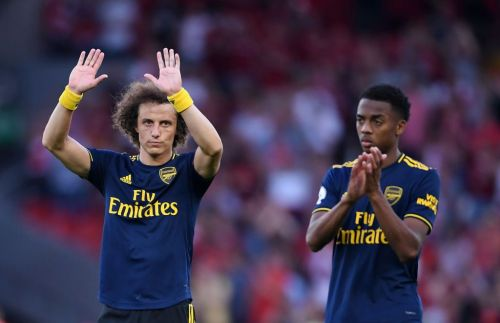 David Luiz sends message to Arsenal fans after horror show against Liverpool