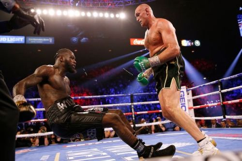 Tyson Fury's seven-year prediction came true vs Deontay Wilder