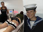 Former Royal Navy officer now makes up to £500 a DAY performing non-surgical bum lifts