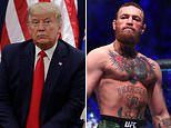 Conor McGregor calls Trump a 'phenomenal' president in a show of support on Twitter during MLK day