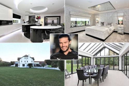 Andy Carroll's mansion is most viewed in UK - and it comes with a kinky extra