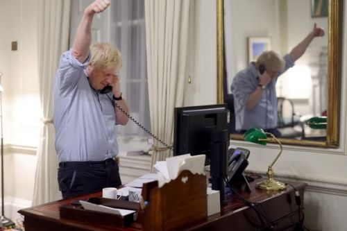 Johnson and Biden 'bonded over trains and stealing slogans' in first phone call
