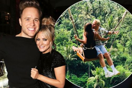 Olly Murs pays tribute to girlfriend for her support after death of his friend Caroline Flack