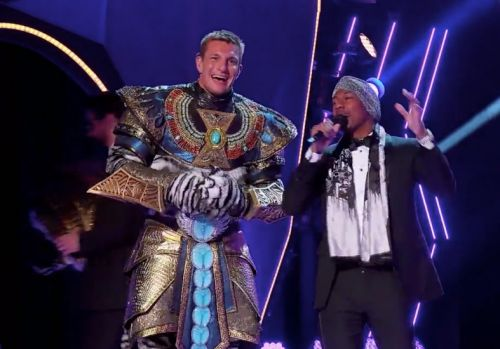 The Masked Singer reveals Rob Gronkwoski as The White Tiger as fans celebrate the NFL star's elimination