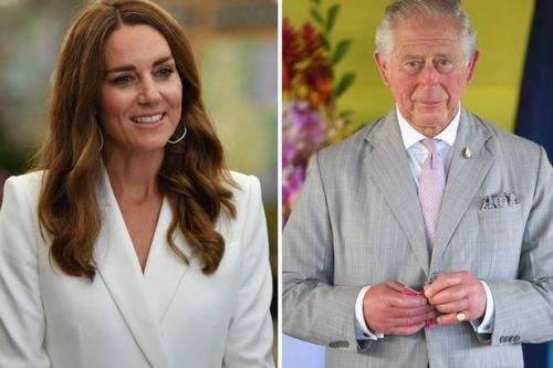 Kate Middleton's nickname for Prince Charles uncovered as she calls him Grandpa
