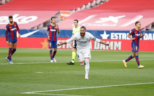 Sergio Ramos penalty helps Real Madrid sink Barcelona