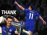 Pedro bids emotional farewell to Chelsea as Spaniard heads to Roma after five-year spell