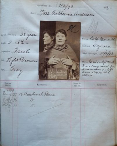 Exhibition on female criminals throughout centuries as part of annual Aberdeen crime writing festival