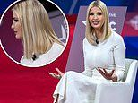 Ivanka Trump shows off her chunky blonde highlights at CPAC