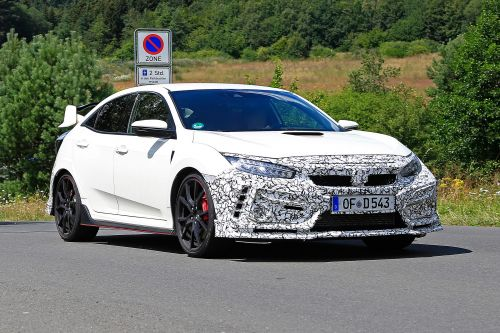 Updated Honda Civic Type R spied testing